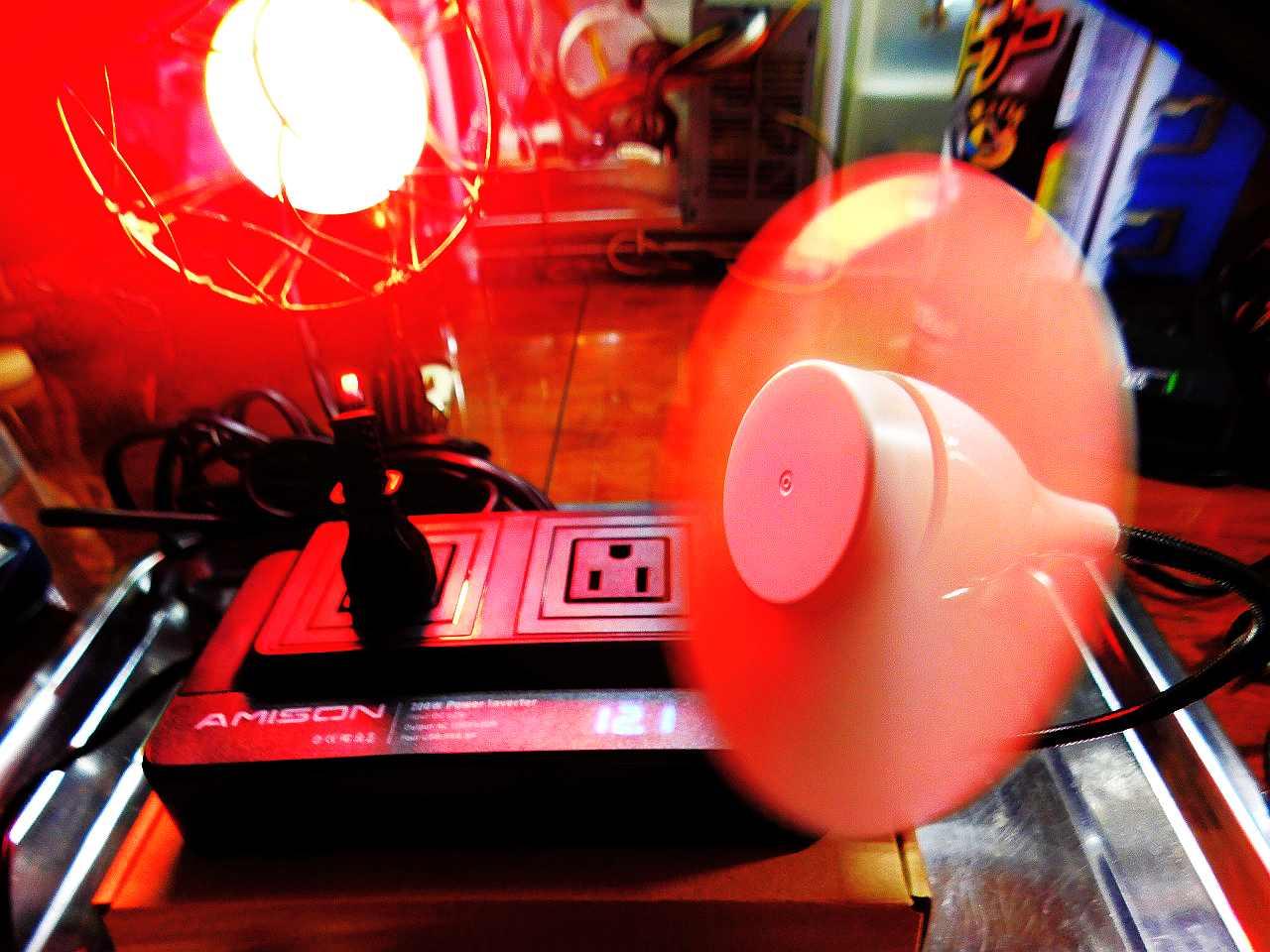 """""""質実剛健!-""""20年ぶりのDC(直流)12V/AC-(交流)100Vインバーターに感銘を受けた!Amison社インバーター-200w仕様-シガーソケットコンセント-カーコンバーター-DC12V/AC100V変換-車載充電器-ACコンセント2口&USB-4ポートタイプ"""