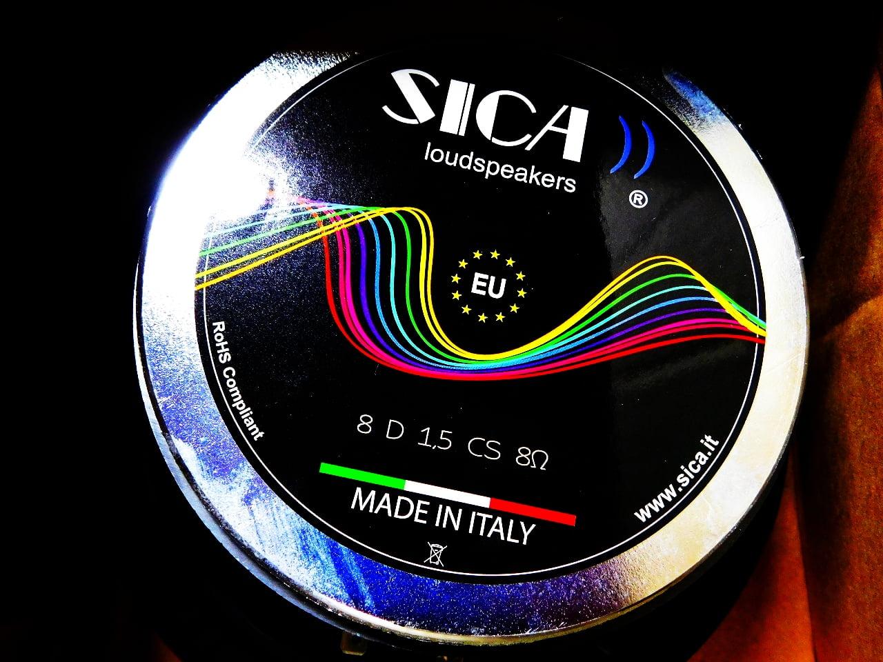 """""""イタリア製""""-""""フルレンジ・スピーカー""""20㎝!!-""""SICA""""社-コードネーム""""Z004950″のレビュー!!"""